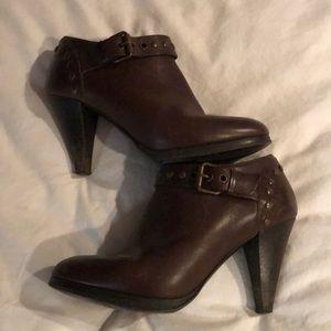 J. Crew brown booties, size 7.5